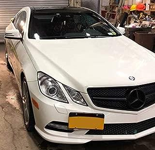 Front Bumper Tow Hook License Plate Mounting Bracket For Mercedes C Class 08 - 14 CLA Class 13 - 16 E Class 10 - 16 S Class 07 - 13 M Class 12 - 15 GLK Class 09 - 12 GLA 14 - 16 SL 12 - 16 SLK 11 - 16