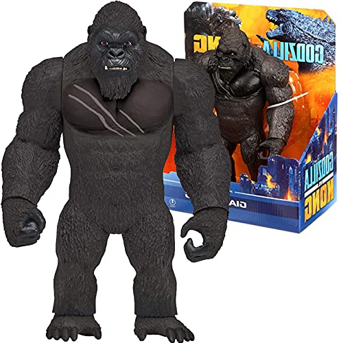 2021 Film Godzilla Vs Kong Giant King of Monsters 28Cm Gojira Monsterverse Anime Action Figure Doll Raccogliere Modello Giocattoli per Bambini per Adulti