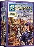 Carcassonne – Extensión: Conto, Rey y Brigand – Asmodee – Juego de Mesa – Juego de Tejas