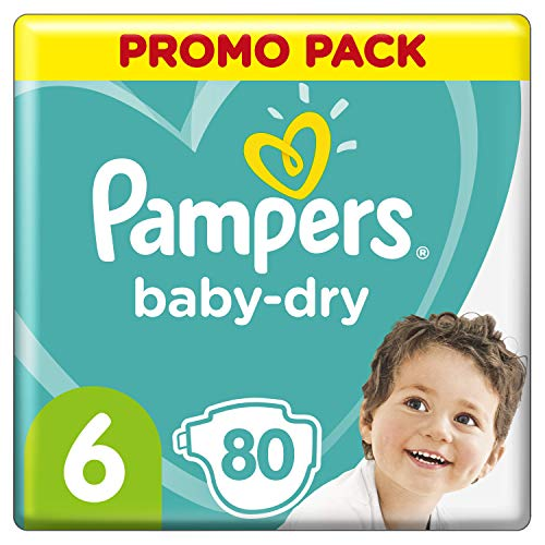 Pampers 81723662 Baby-Dry Pants windeln, weiß