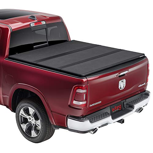 """extang Solid Fold 2.0 Hard Folding Truck Bed Tonneau Cover   83425   Fits 09-18, 19/20 Classic Dodge RAM 1500/2500/3500 5'7"""" Bed"""