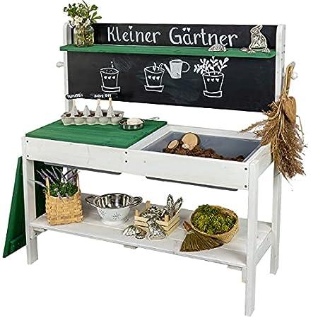 Meppi Outdoorküche Kleiner Gärtner weiss / grün