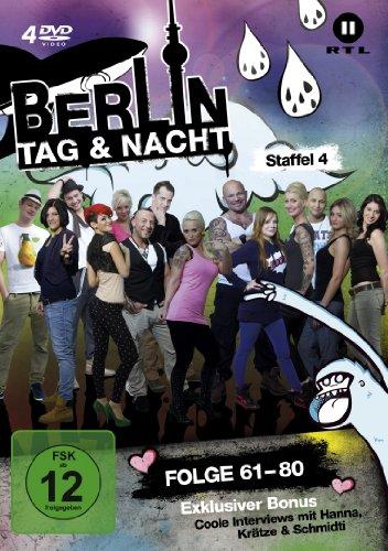 Berlin - Tag & Nacht, Vol.  4: Folgen 61-80 (Fan Edition) (4 DVDs)