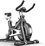 LKK-KK Bicicleta de Ejercicios Ciclismo Vuelta de la bici de ciclismo indoor for bicicleta Ciclo Cardio Trainer corazón W/Pantalla LED bicicletas de ejercicio estacionario interior-Negro