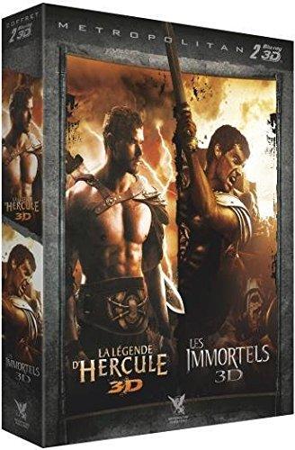 La Légende d'Hercule + Les Immortels [Blu-ray 3D]