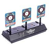 Topways Target pour Nerf , Électronique Réinitialisation Automatique Prise de Vue Scoring Cible Jouet pour Nerf Pfeile N-Strike Elite/Mega/Rival Series
