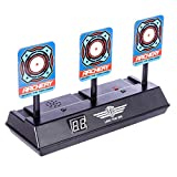 Topways® Auto Reset Shooting Target , Electrónico Scoring de Disparo Objetivo Reinicio Automático para Nerf Pfeile Juguete Pistolas N-Strike Elite / Mega / Rival Serie