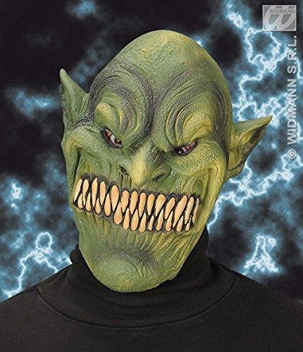Widmann Kobold-Maske, Party-Masken, Augenmasken und Verkleidungen für Maskenade, Kostüm-Zubehör