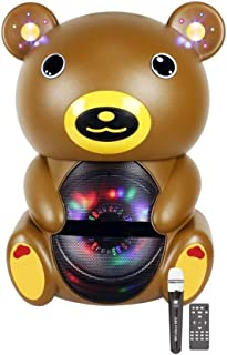 Rechargeable Speaker bear shape Bluetooth With Wireless Mike