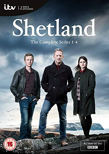 Shetland - The Complete Series 1-4 (6 DVDs) (UK-Import)