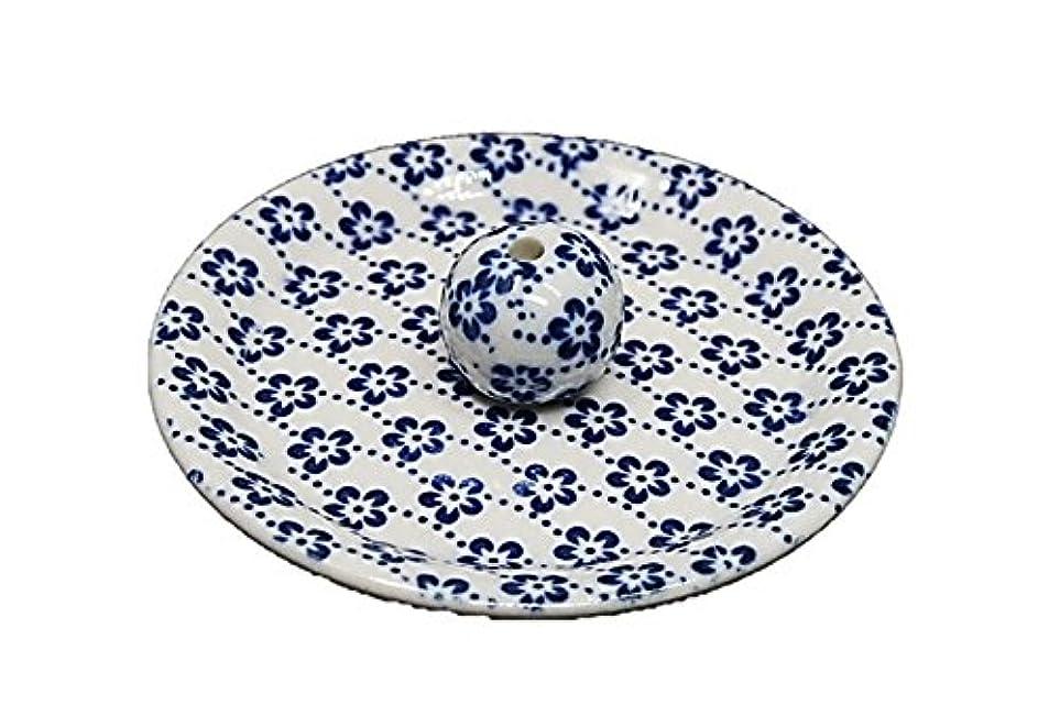 自由ドリル細分化する9-25 梅花 9cm香皿 お香立て お香たて 陶器 日本製 製造?直売品