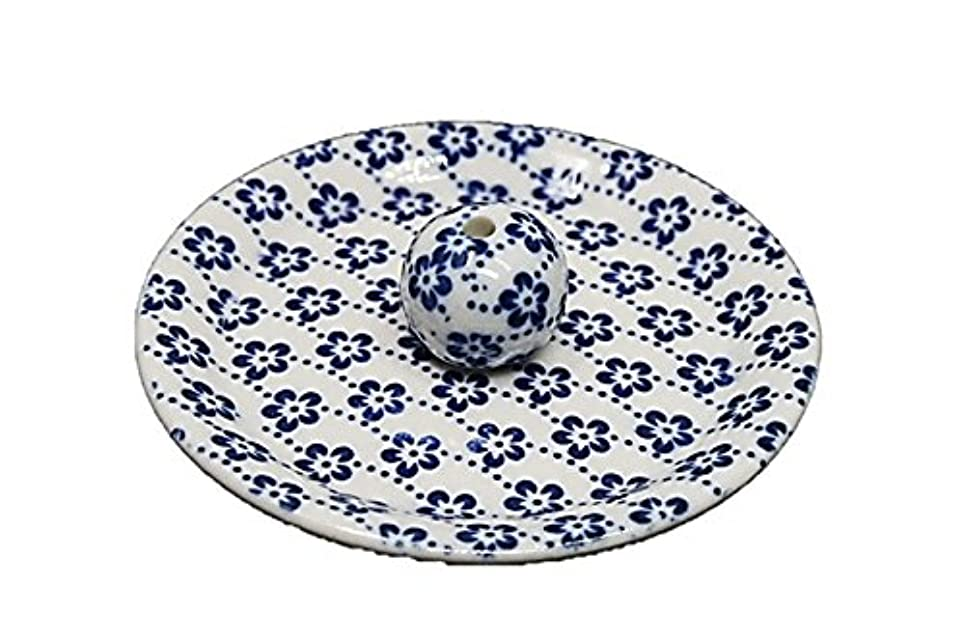 防水ちっちゃい預言者9-25 梅花 9cm香皿 お香立て お香たて 陶器 日本製 製造?直売品