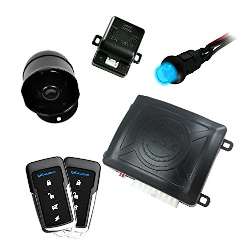 Excalibur 1-Way Paging Keyless Entry Car Security System w/ Two 4-Button Remotes