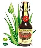L'Abruzzese - Zumo de Aloe Arborescens Etnea puro biológico, 500 g, suplemento fresco, fabricado en Italia por hojas de Nostre Plantagioni by L'Abruzzese