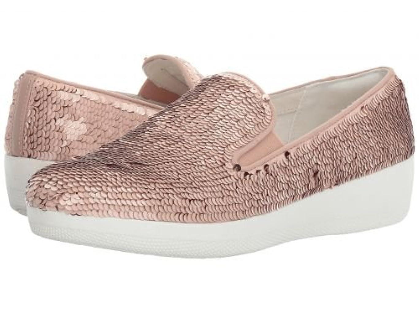 物質保存する非公式FitFlop(フィットフロップ) レディース 女性用 シューズ 靴 スニーカー 運動靴 Superskate w/Sequins - Nude [並行輸入品]
