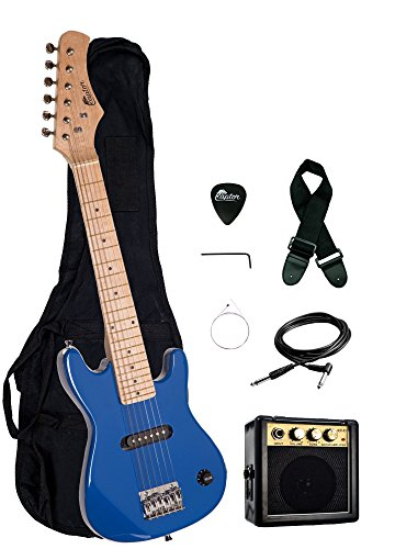 Raptor EP3 30' Kids 1/2 Size Electric Guitar Package with...