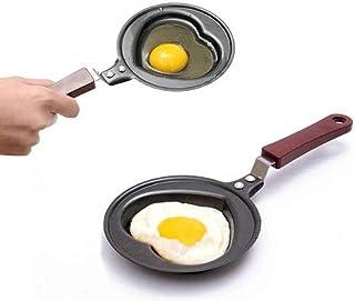 ZTING Utensilios De Cocina De Huevo, Sartenes Antiadherentes, Ollas Diferentes Forma De Huevo De Cocina, Mini Ollas Desayuno De Huevos De Cocina, Cocina Cocinando Las Herramientas-Cuatro Piezas