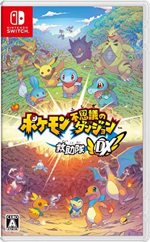 ポケモン不思議のダンジョン 救助隊DX -Switch (【Amazon.co.jp限定】オリジナルマスキングテープ 同梱)
