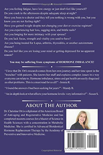 51ptCqOWXQL - Survive and Thrive through Hormone Balance: An Anti-Aging Approach to Improve Gut Health, Control Inflammation and Reduce Stress