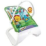 Dondolo Sdraietta Per Neonati Vibrante Fitch Baby Seduta in Tessuto Giocattoli Pendenti musicale
