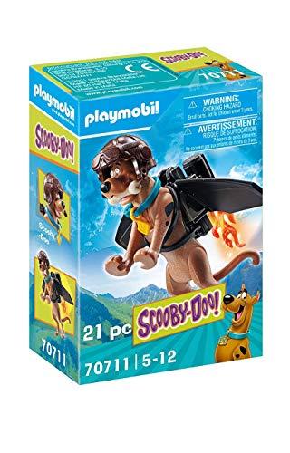 PLAYMOBIL SCOOBY-DOO! 70711 Figura Coleccionable Piloto, A partir de 5 años