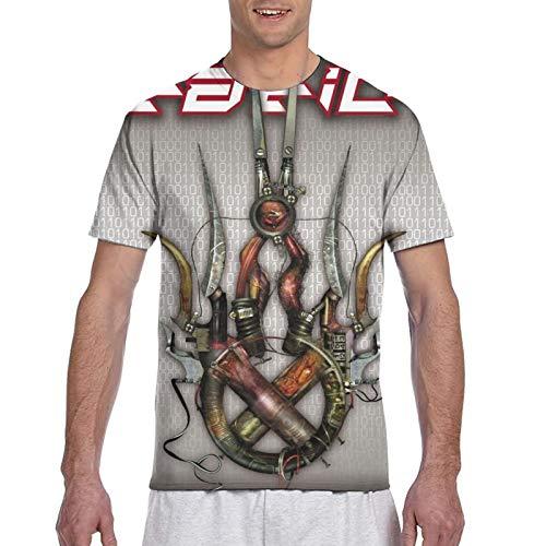 Staticx Machine Herren 3D Print Tee T-Shirt M