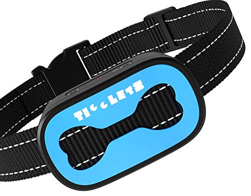 Original Dog Bark Collar - No Shock Bark Collar - Anti Barking Device with Smart Detection Module – No Pain Vibration Barking Control Device Bark Collar for Small Medium Large Dogs