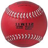 Markwort Farbkodierte Gewichteter 27,9cm Softball (ML, Maroon)