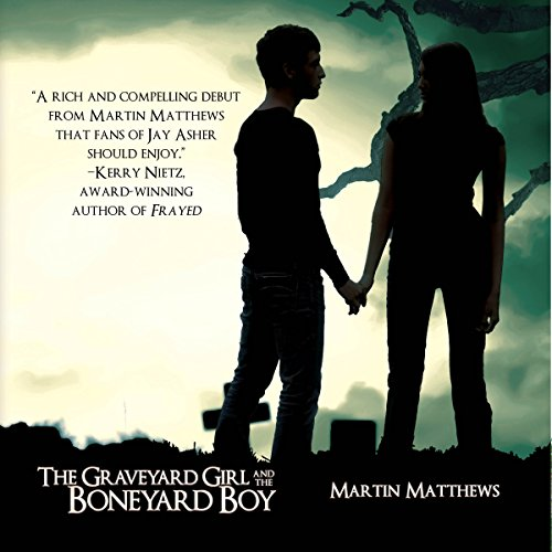 The Graveyard Girl and the Boneyard Boy audiobook cover art