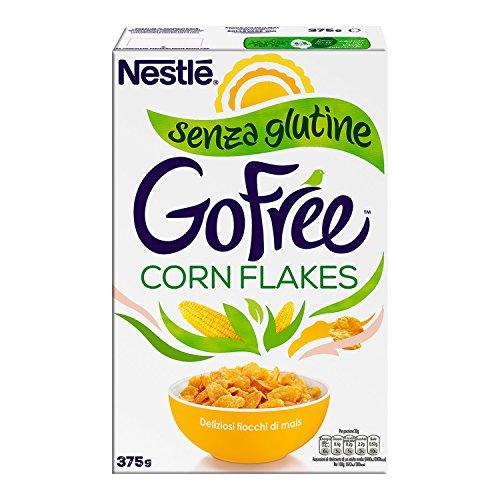 Nestlé Go Free Corn Flakes Fiocchi di Mais senza Glutine, 375g