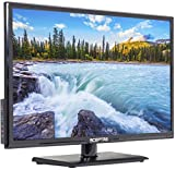"Sceptre E246BV-FC 24"" LED HDTV Display 1920x1080 Full HD HDMI VGA USB, True Black (2017)"