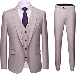 86963cc32 Amazon.fr : costume 3 pieces homme - Beige