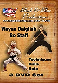3 DVD Set Youth Tournament Karate Bo Staff Training Course