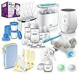 Philips Avent Mega - Starter - Set mit vielen Babyartikeln für den Start ins Elternsein