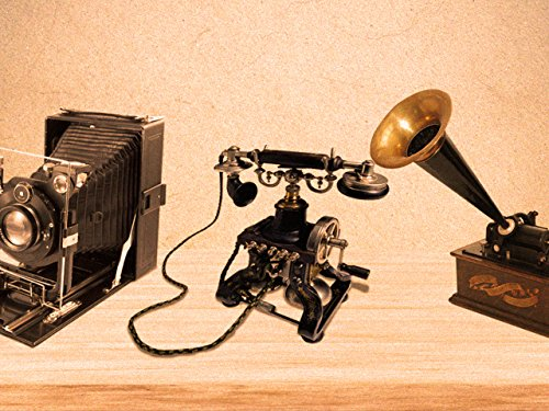 Cameras, Telephones, and Phonographs