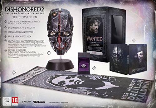 Dishonored 2: Das Vermächtnis der Maske - Collector's Edition [PlayStation 4]