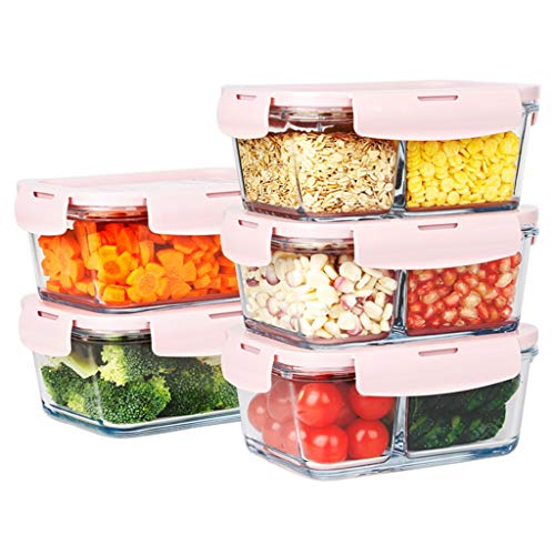 Learn More About LINGLING Glass Meal Prep Containers/Food Storage Containers With Lids Airtight/Glas...