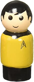 Bif Bang Pow! Star Trek The Original Series Lieutenant Hikaru Sulu Pin Mate Wooden Figure