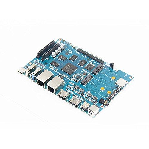 Banana Pi BPI W2 Intelligenter Router mit Realtec RTD1296-Design, geeignet für Home-Entertainment, Heimautomation, Spielcenter