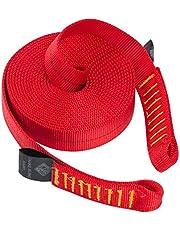 Palm kajak of kajakken - Slangenslinger - Veiligheidslijn - Rood - Materiaal: 25 mm buisvormige nylon tape