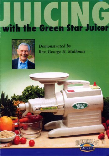 Tribest GS993C Juicing with Green Star Juicer DVD