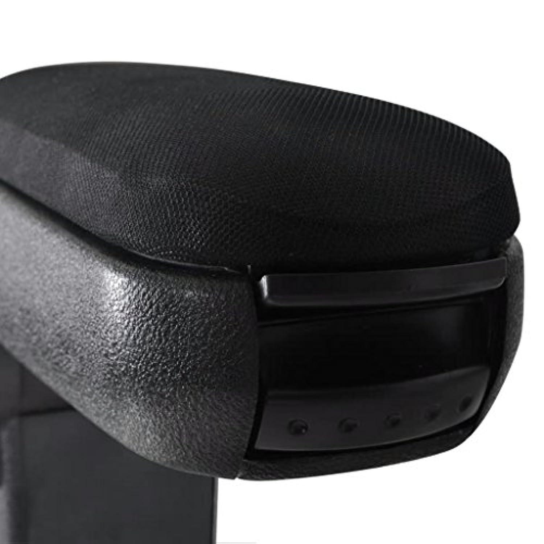 Aofocy Coussin daccoudoir de voiture PU accoudoir en cuir souple Coussin oreiller Coussin de console centrale pour la plupart des voitures