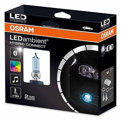 Osram LEDambient HYBRID CONNECTt HB3, Offroad-Scheinwerferbeleuchtung, LEDEXT102-03, 12V, Faltschachtel (1 Stück)