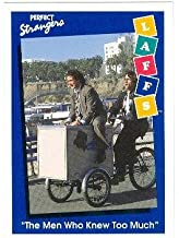 Perfect Strangers trading card 1991 Impel Laffs #71 Bronson Pinchot Balki Bartokomous and Mark Linn Baker as Larry Appleton