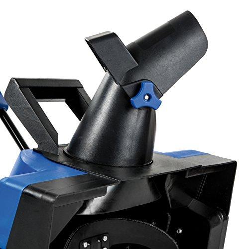 Snow Joe iON21SB-PRO Cordless Single Stage Snow Blower   21-Inch   5 Ah Battery   40 Volt   Brushless