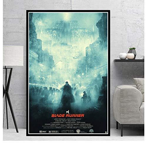 shuimanjinshan Poster Blade Runner 2049 Film Film Geschenk Modern Comic Ölgemälde Leinwand Kunst Wandbilder Wohnzimmer Home Decor 50X70CM ungerahmt pc-297