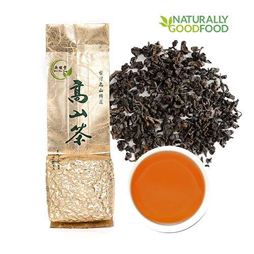 Yan Hou Tang -10 Jahre alt Taiwan Gealterter Schwarzer Oolong Loser Tee Honig Geschmack Tieffermentiertes lose Blatt Formosa gewachsener High Mountain Wulong -t US FDA SGS Verifiziert
