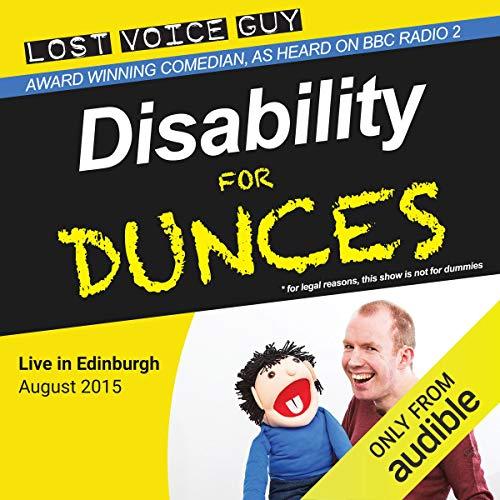 Disabilty for Dunces cover art