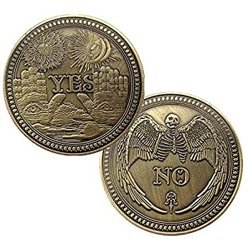 BirchRiver Yes No Challenge Coin Decision Maker Commemorative Collector