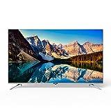 Metz Televisión Smart TV 43 Pulgadas 43MUB7000 UHD Android TV 9,0 sin Marco Google Asistente Control Remoto por Voz, Plata